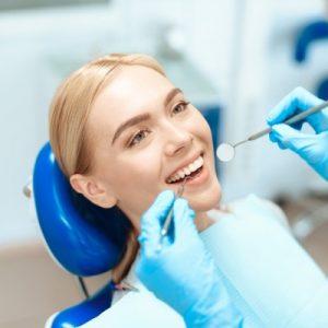 best dentist in Mississauga, female hygienist and dentist